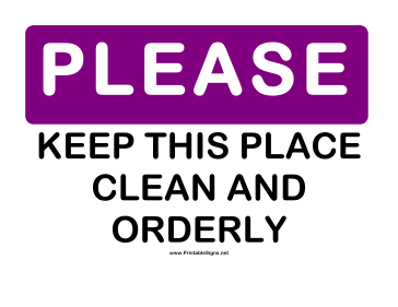Lovely Please Keep Kitchen Clean Signs Submited Images
