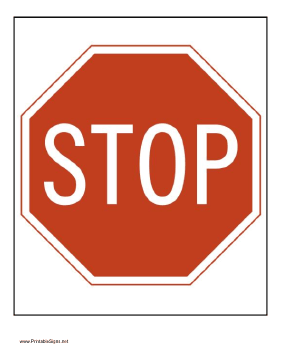 Bright image in printable signs