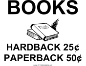 Books Yard Sale